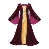 Tudor Velvet Gown Burg Gold