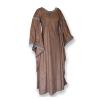 Winged Dress Brown