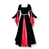 Renaissance MD Gown Black/Red