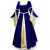 Renaissance MD Gown Blue/Gold