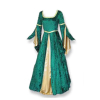 Renaissance MD Gown Green/Gold