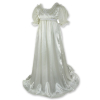 Regency Satin Ball Gown Ivory
