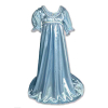 Regency Satin Ball Gown Light Blue