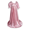 Regency Satin Ball Gown Rose