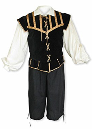 Men's Renaissance Doublet Set I