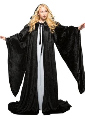 Lined Velvet Robe