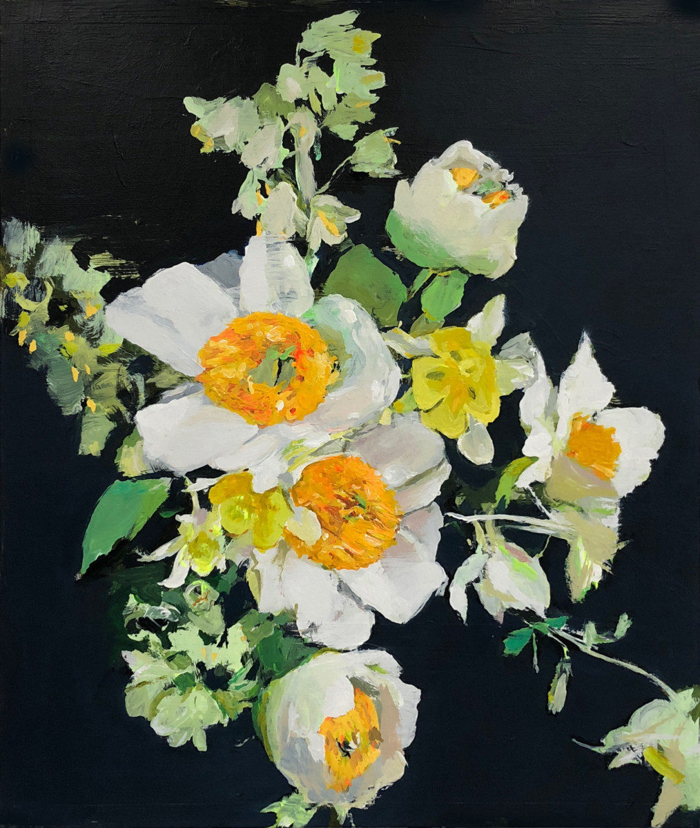 Michael Harnish_BOUQUET_24 x 20 inches_acrylic