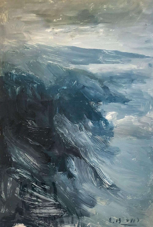 Victor Hugo Zayas_Coast_38 x 26 inches_oil on canvas