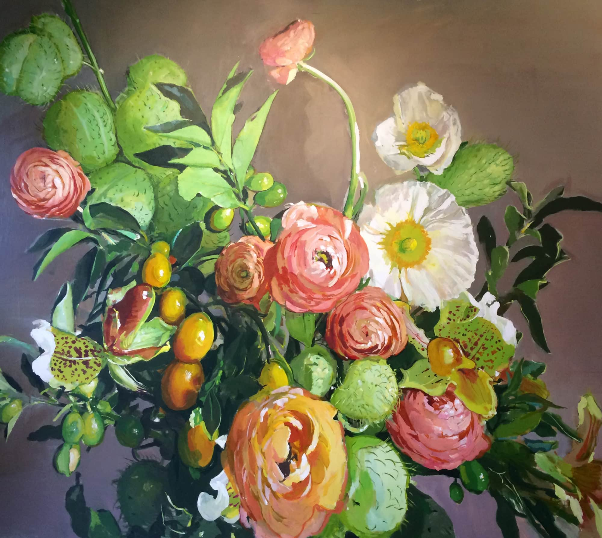 Michael Harnish_Bouquet II_84 x 96 inches_oil