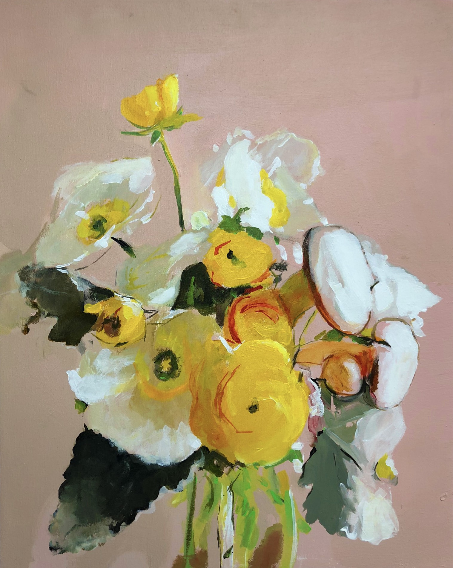 Michael_Harnish_BOUQUET_30 x 20 inches_oil