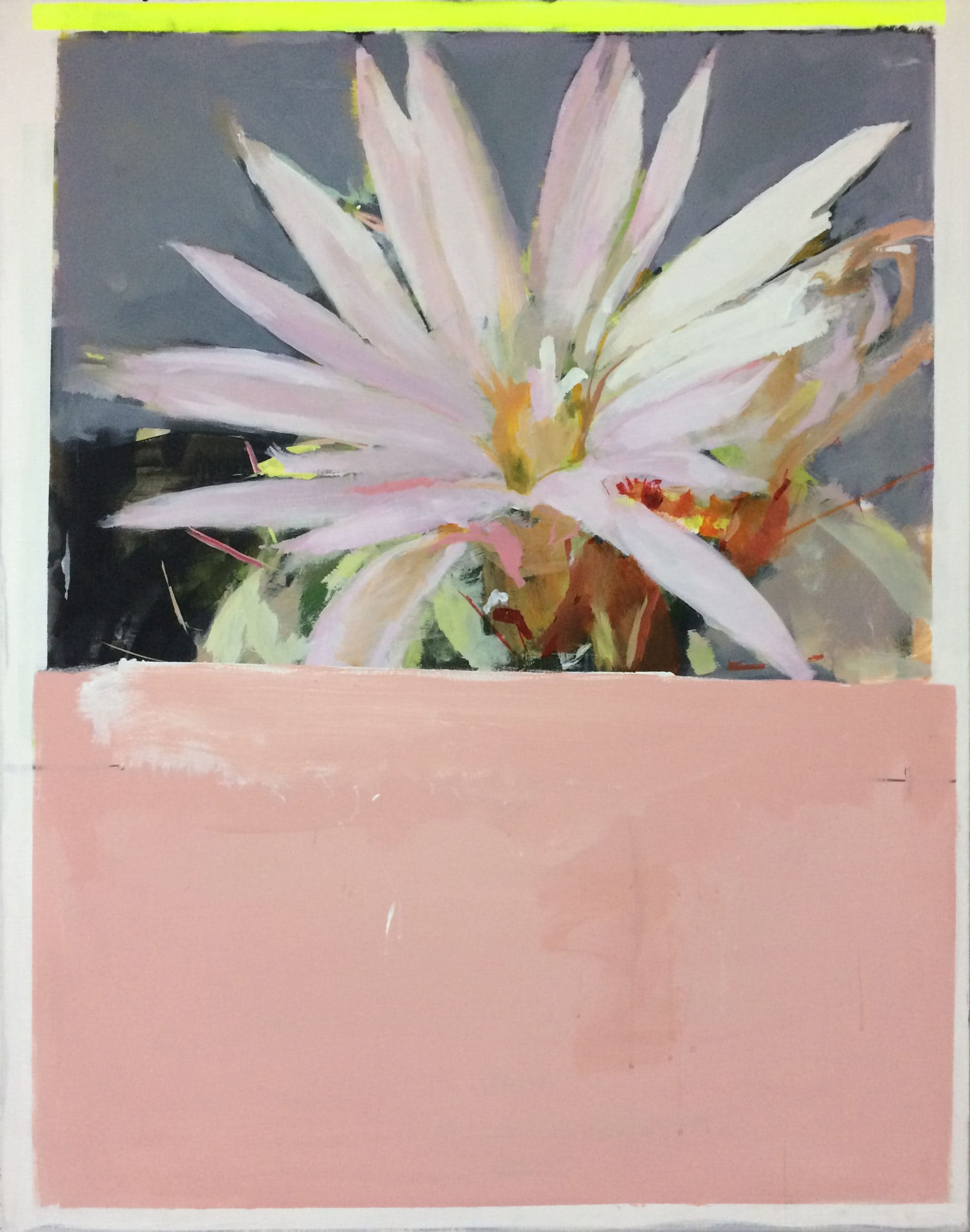 Michael_Harnish_CACTUS FLOWER I_60 x 48 inches_oil