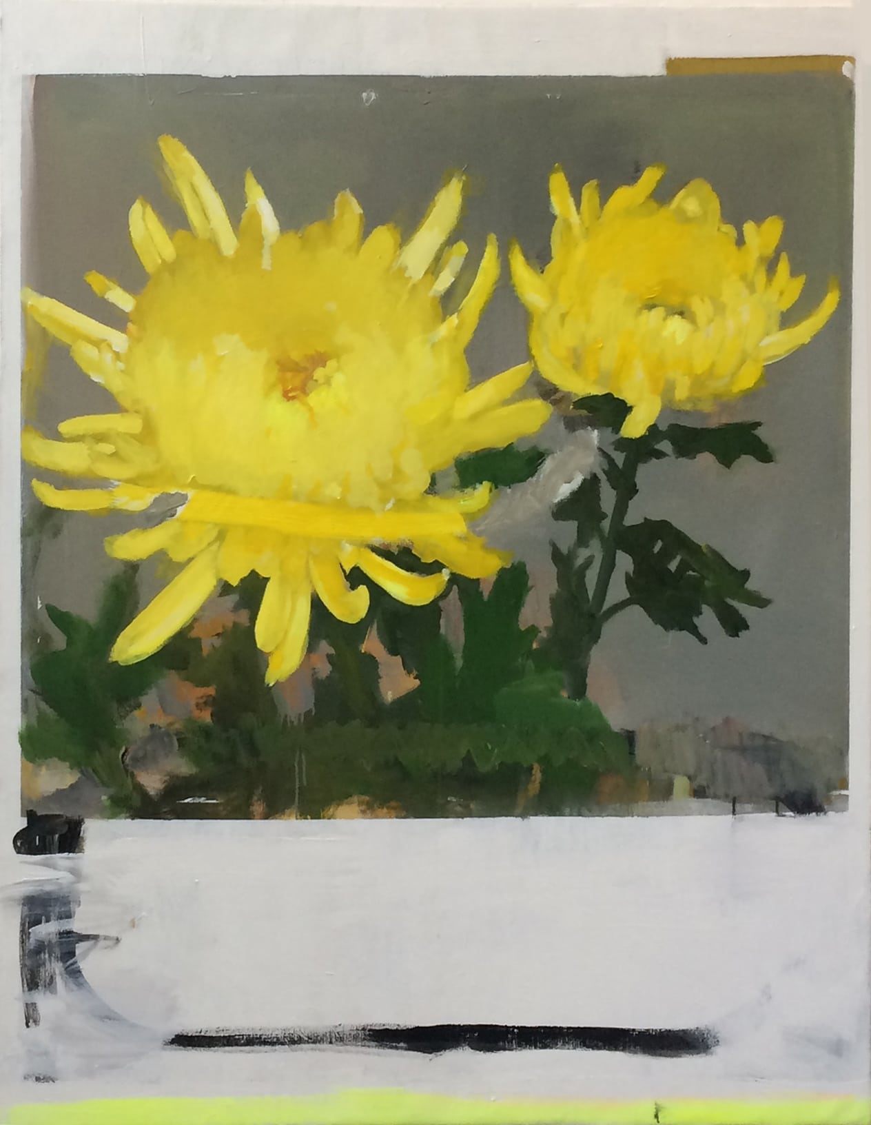 Michael_Harnish_DANDELION I_60 x 48 inches_oil