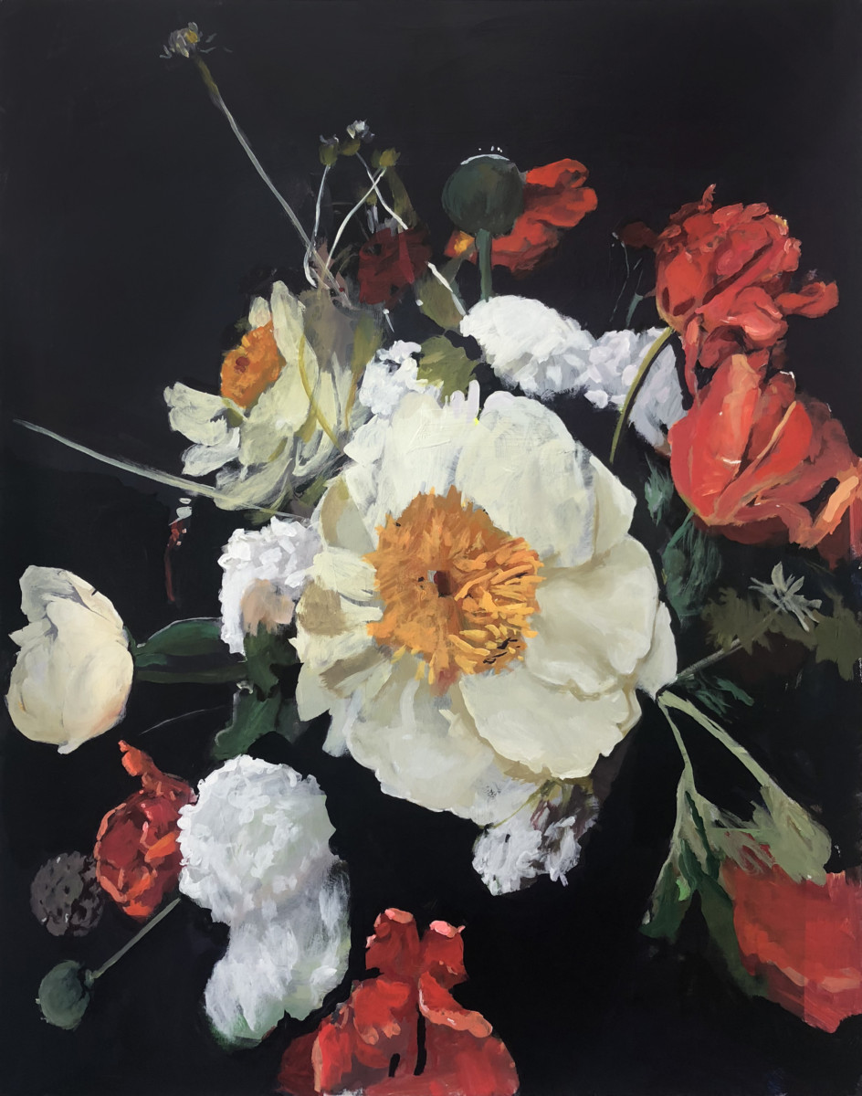 Michael Harnish_BOUQUET III_60 x 48 inches_oil