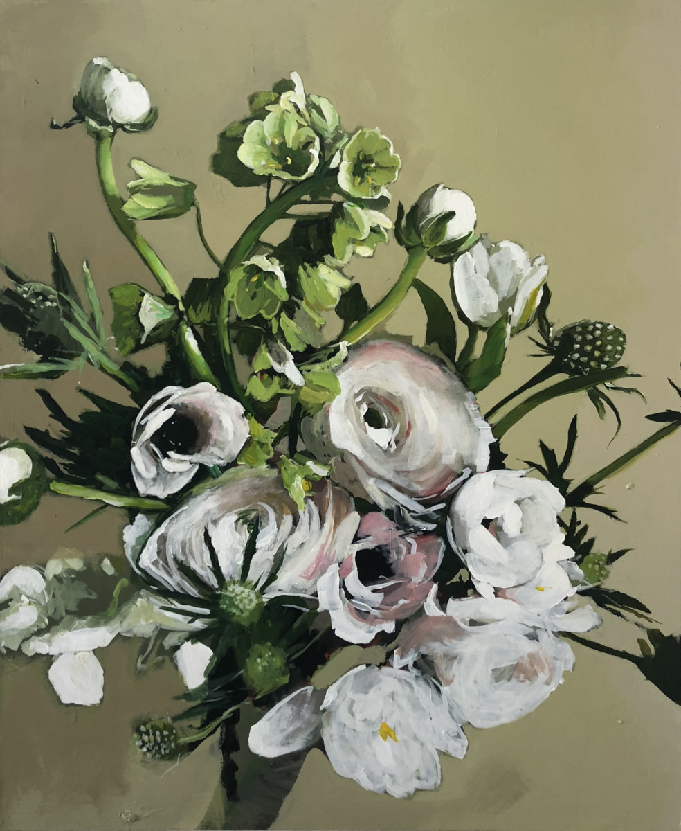 Michael Harnish_BOUQUET II_60 x 48 inches_oil