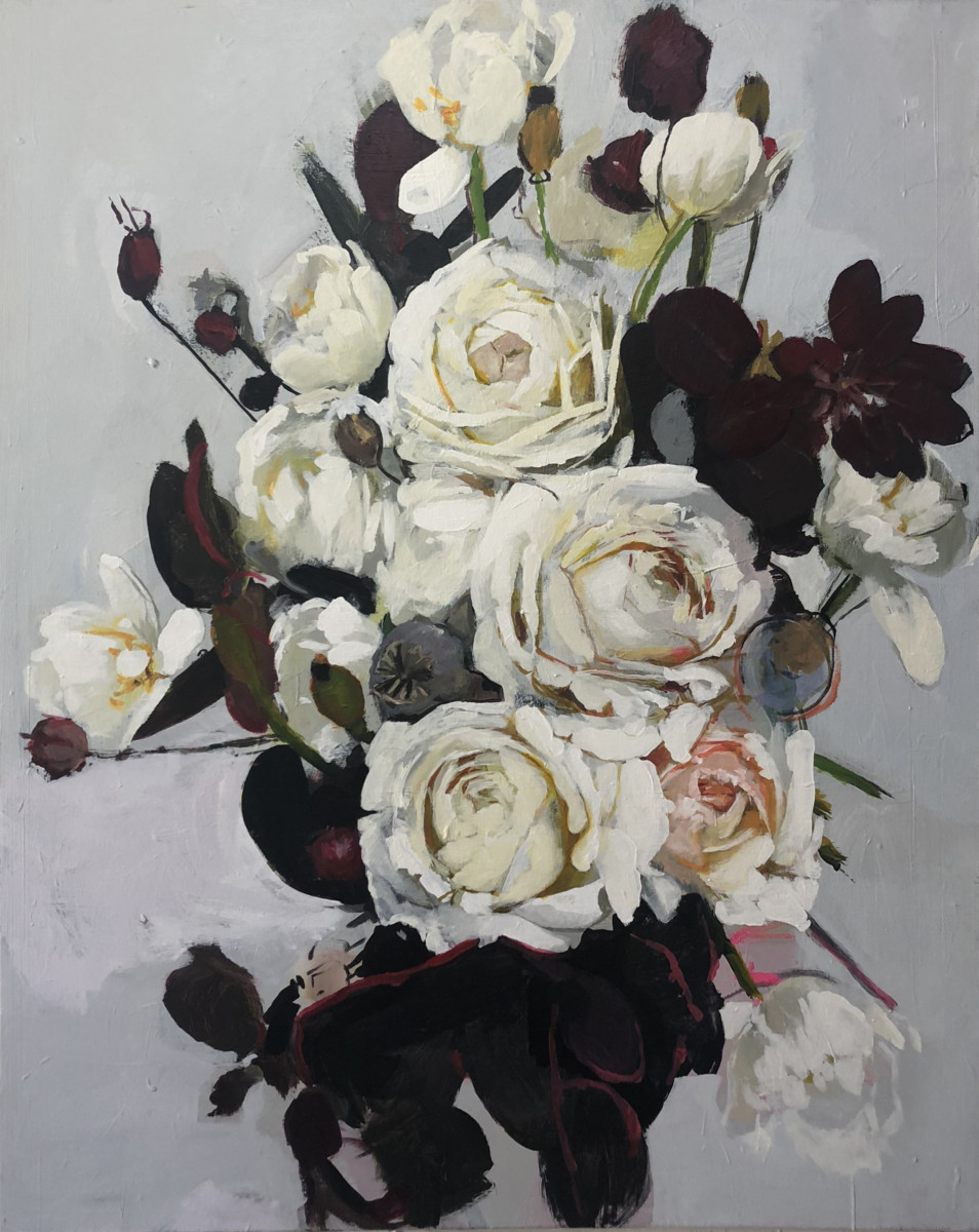 Michael Harnish_BOUQUET I_60 x 48 inches_oil