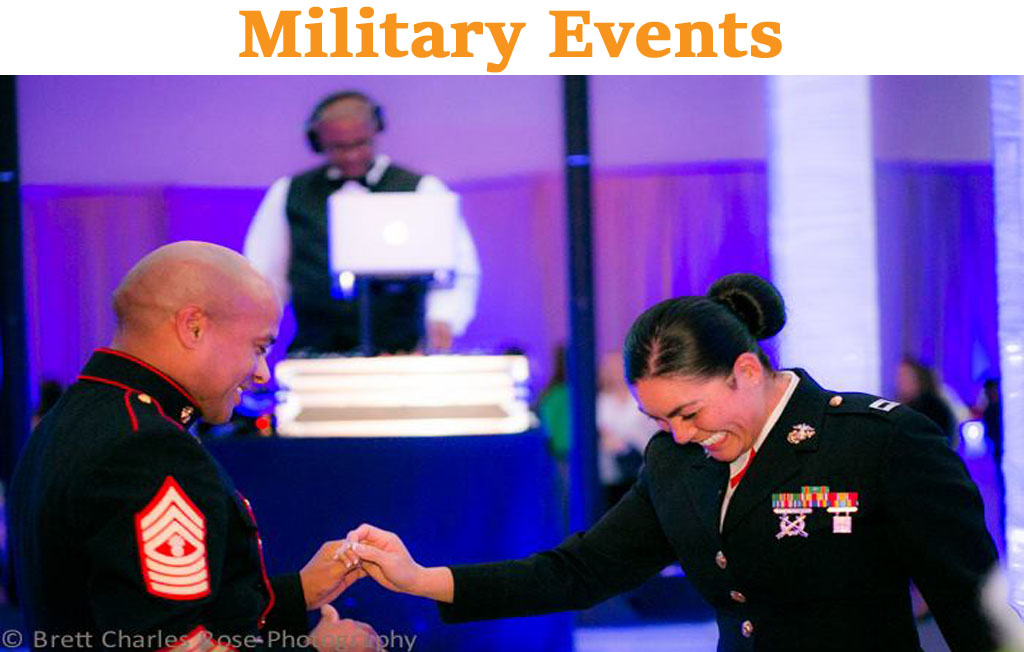 Hiring the best DJ for your military events