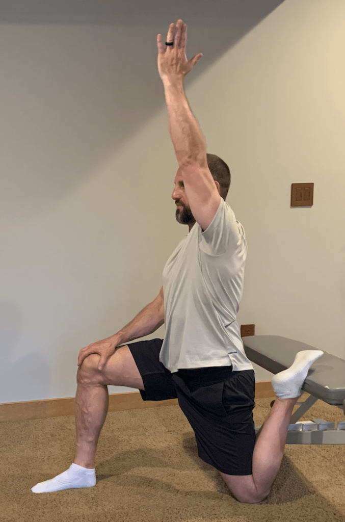 licorice lunge the greatest hip flexor stretch