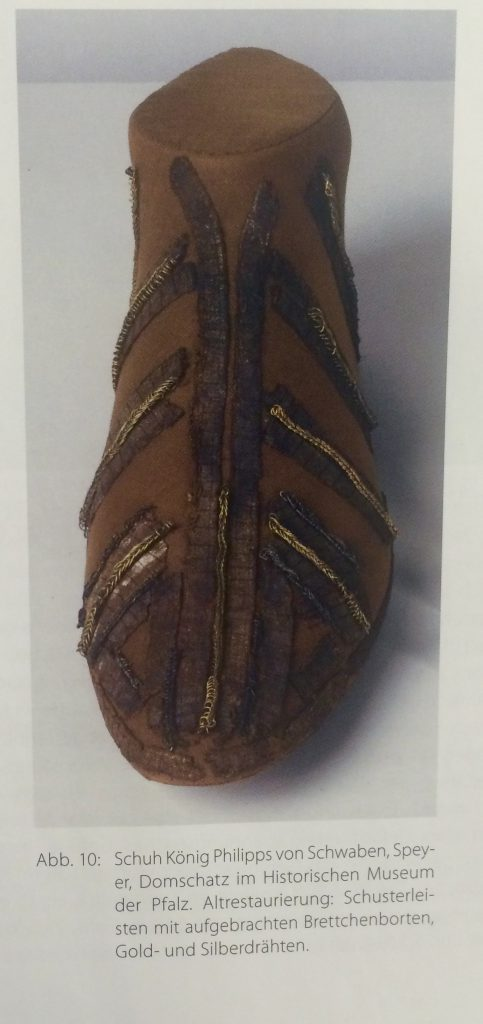 Shoe of Philip of Swabia