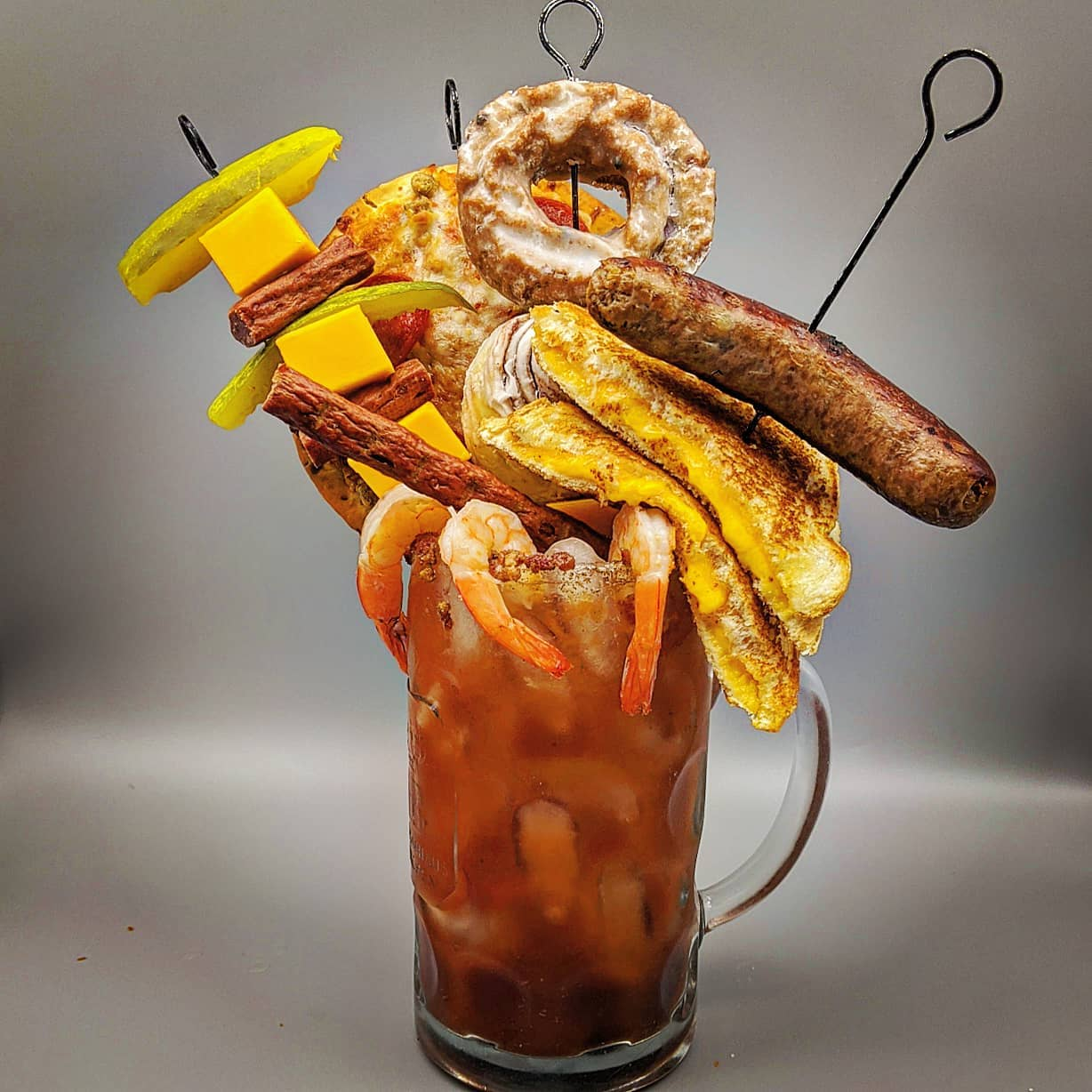 Wisconsin Bloody Mary - Fully Loaded and Properly Garnished