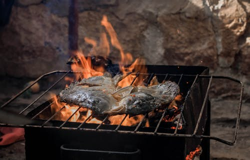 Pwason Boukannen (Grilled Fish)