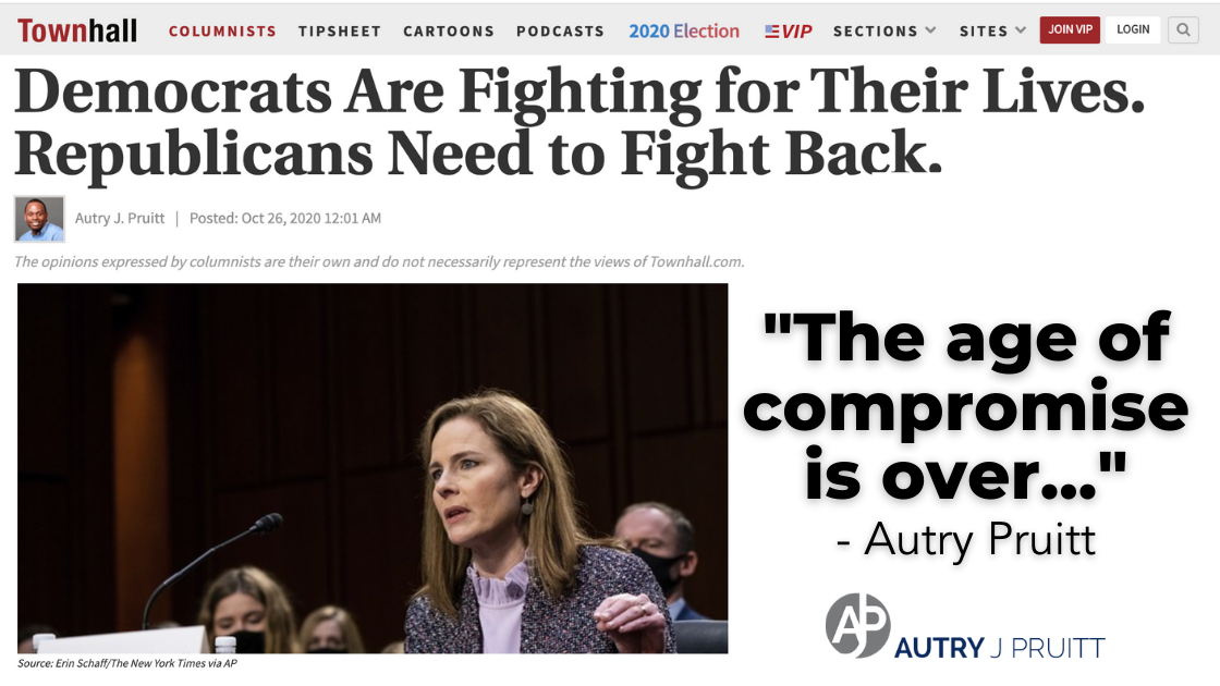Democrats Are Fighting for Their Lives. Republicans Need to Fight Back.