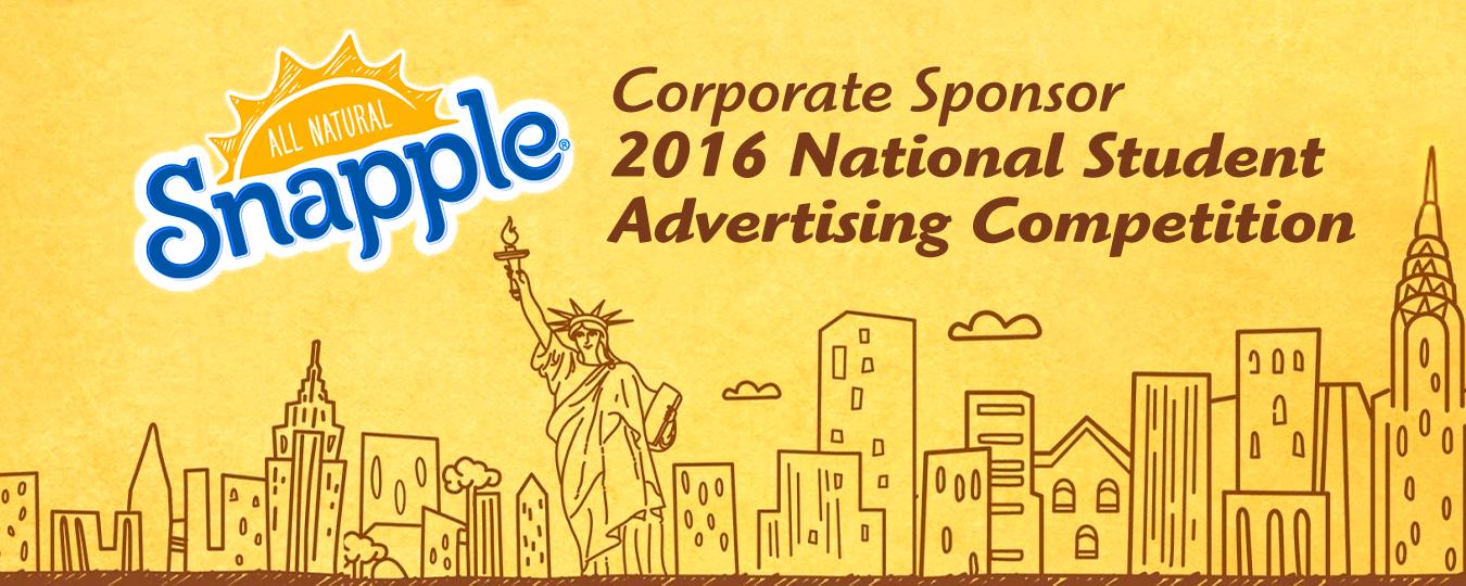 Snapple to Sponsor 2016 NSAC