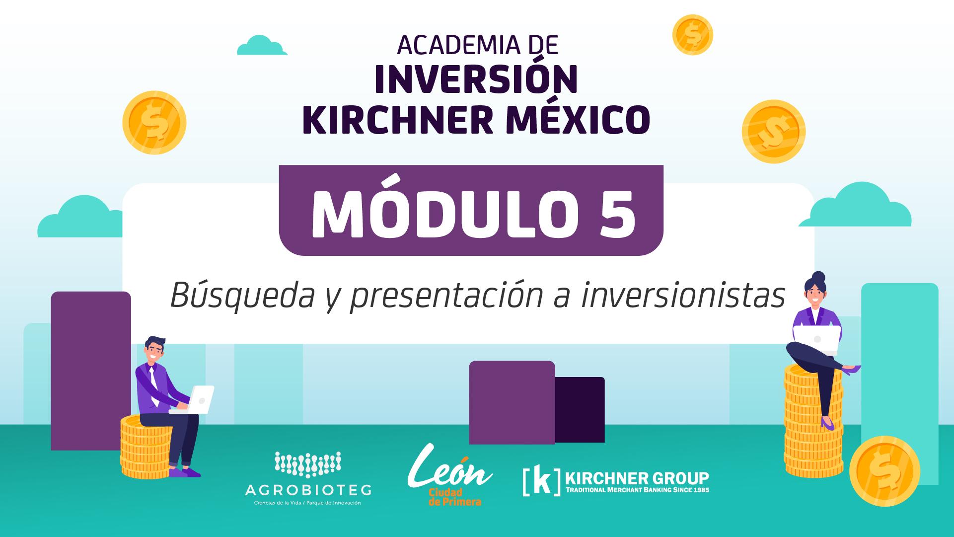 Módulo 5 / Búsqueda y presentación a inversionistas