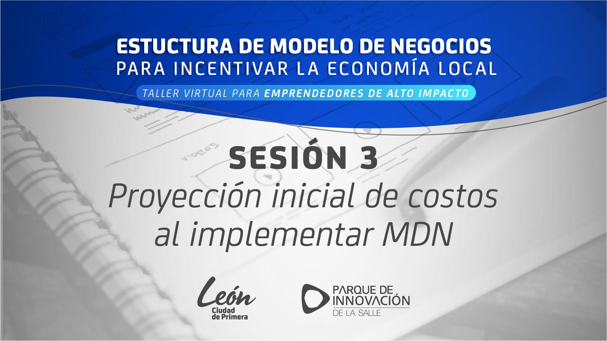 Estructura de modelo de negocios sesión 3