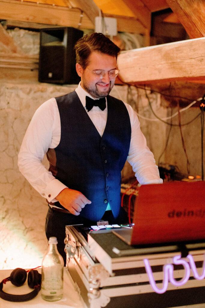 Hochzeit DJ Schloss Waldegg