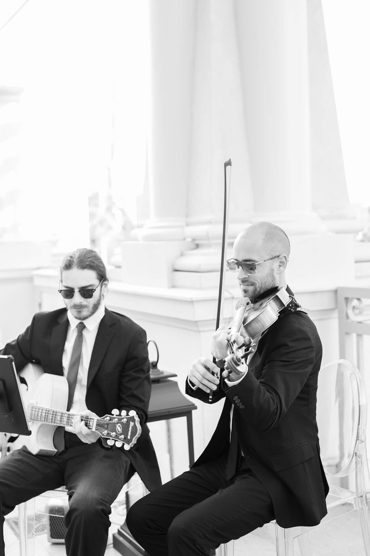 Wedding Violin Guitar Duo Kiral Artists