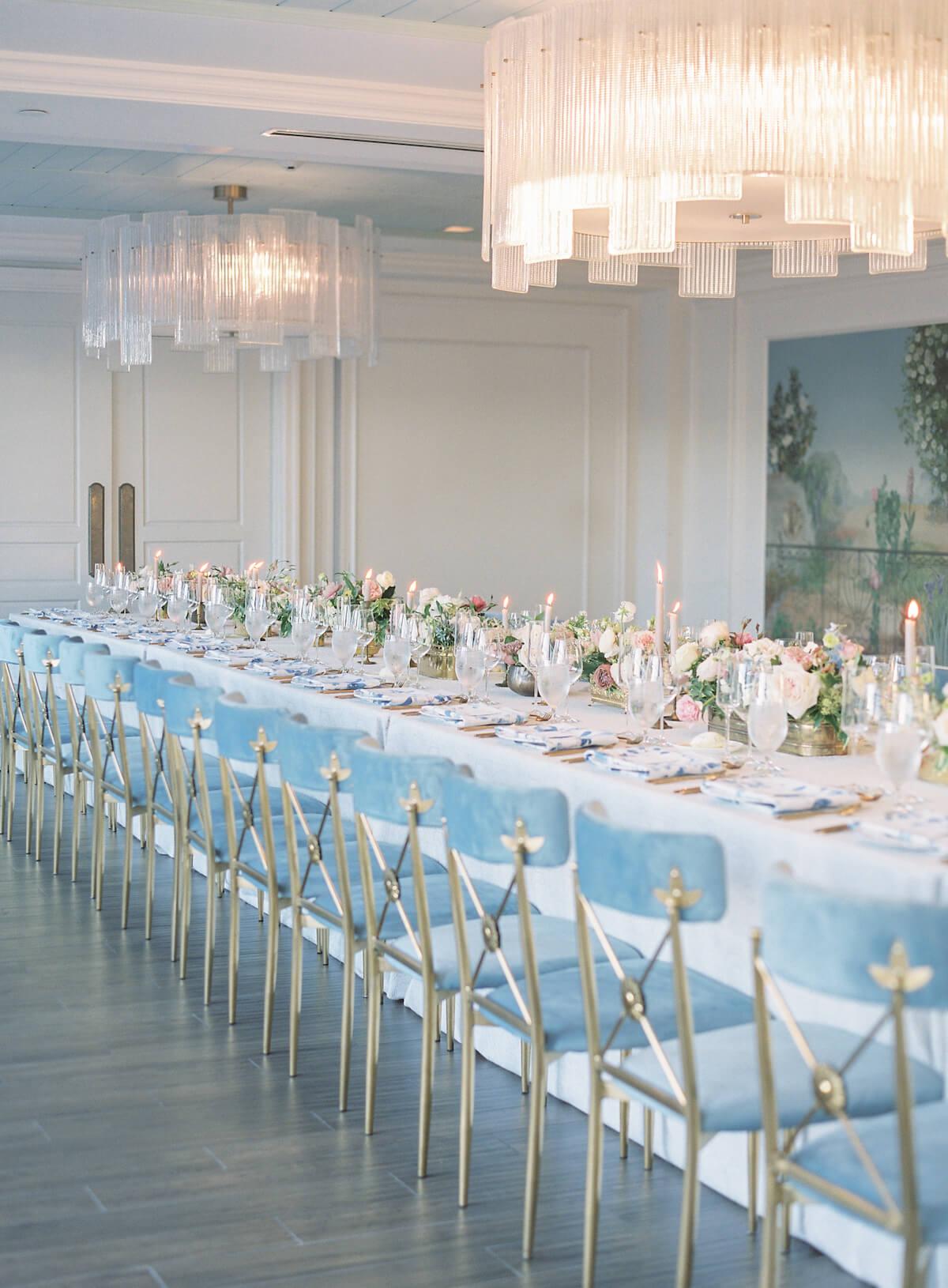 Dinner Table wedding at Hotel Bennett Charleston, SC