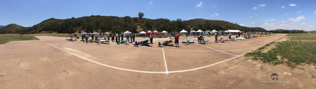warbirds 2015 - panoramic