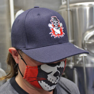 Ska Brewing Flexfit Blue Cap Pinstripe