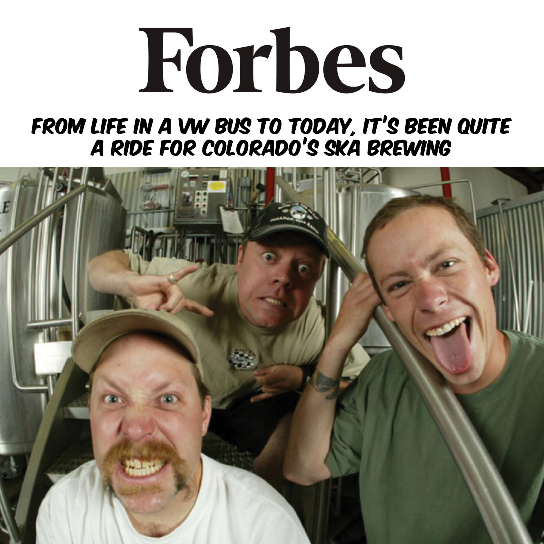 Ska Brewing Forbes Magazine