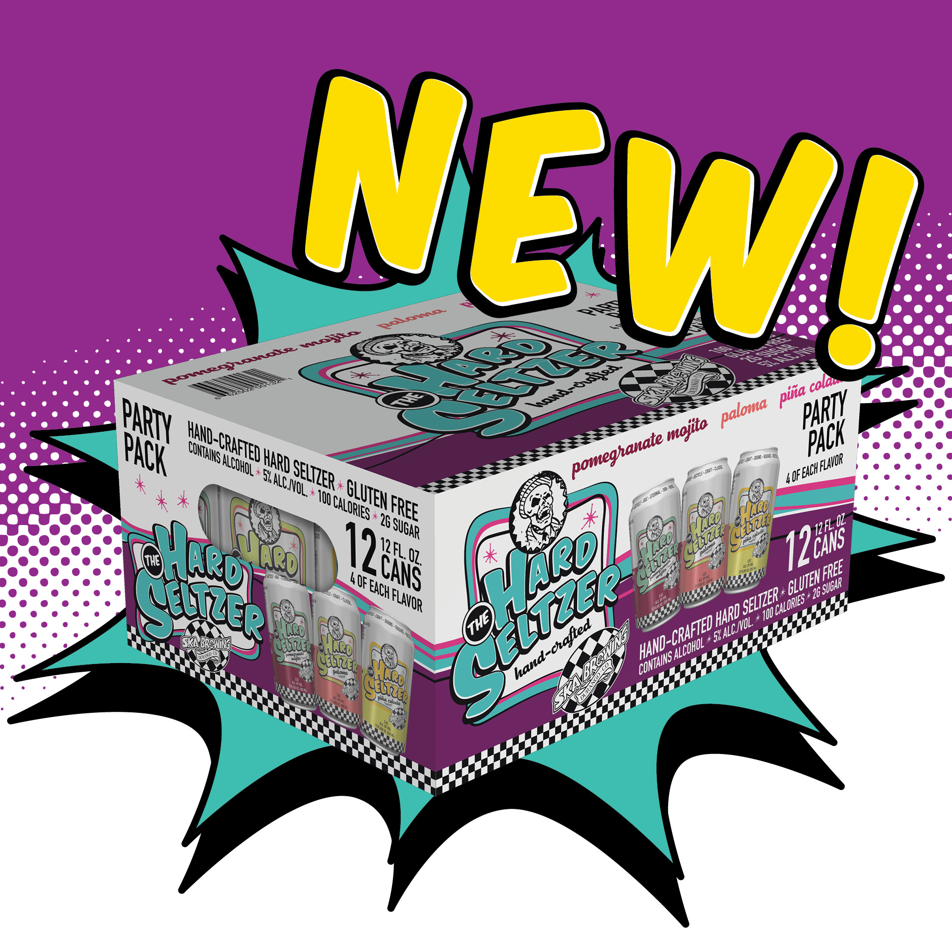 Hard Seltzer Party Pack