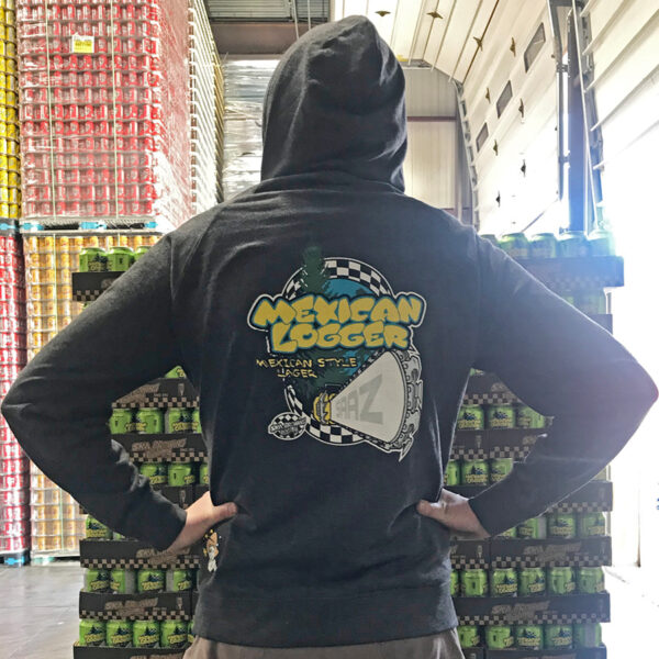 Mexican Logger Zip Hoodie
