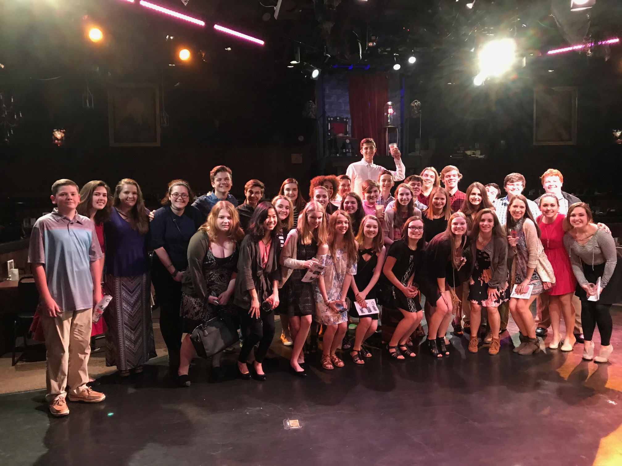 The Drama Club @ Toby's Dinner Theatre 2017