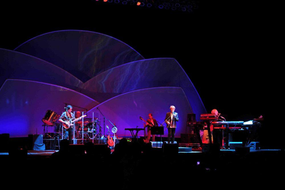 Anderson, Rabin and Wakeman perform at Hard Rock Live held at the Seminole Hard Rock Hotel & Casino.