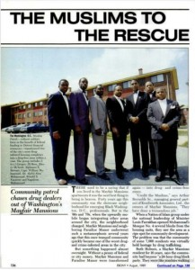 The Dope Busters: Farrakhan's Salvation Army