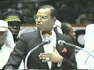 The Honorable Louis Farrakhan, at Madison Square Garden, 1985