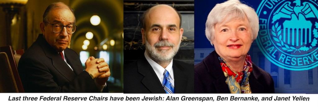Federal Reserve Jewish Chairs