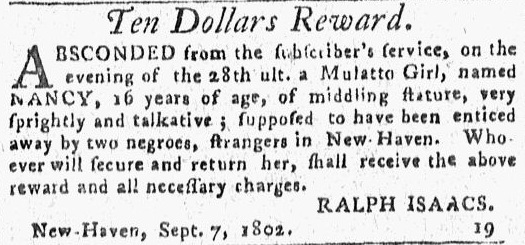 Connecticut Journal; Date- 09-16-1802