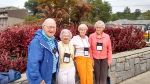 L to R: Auburn Boyers, Pauline Miller, Rosie Martz, and Ruth Boyers