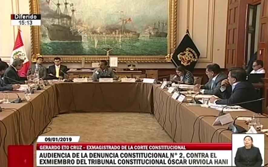 GERARDO ETO: CASTILLA DIO CIFRAS DE LA DEUDA A MIEMBROS DEL TRIBUNAL CONSTITUCIONAL