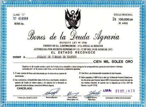 VALORIZACION DE BONOS AGRARIOS: EL MÉTODO CORRECTO EXISTE