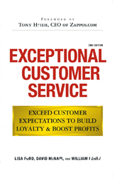 Exceptional Customer Service: Going Beyond Your Good Service to Exceed the Customer's Expectation