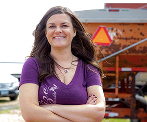 Michelle Miller, The Farm Babe, Agriculture Speaker