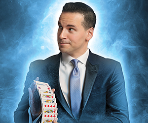 Tom Pesce, Fast-Paced High-Octane Magician