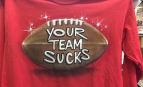 Air Brush your team shirt..