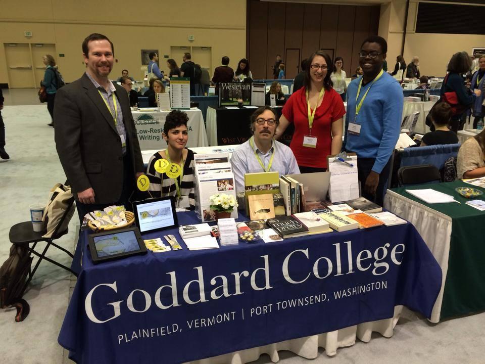 Goddard Alum/Faculty Reception at AWP